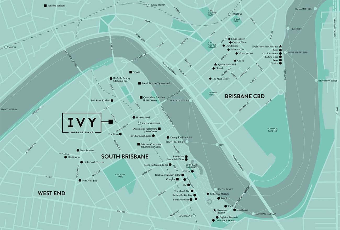 Vị trí dự án Ivy Eve